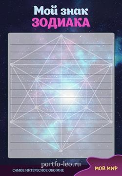 пример знак зодиака